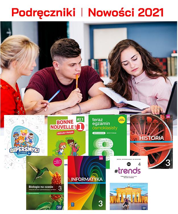 Podręczniki - nowość 2021